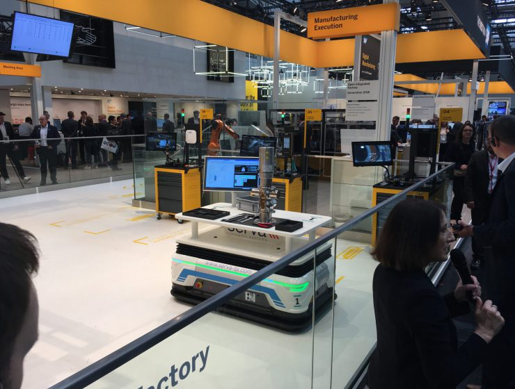 Demonstrated At Hannover Messe