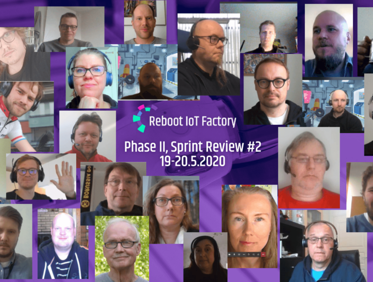 Sprint Review Participants In A Selfie Collage