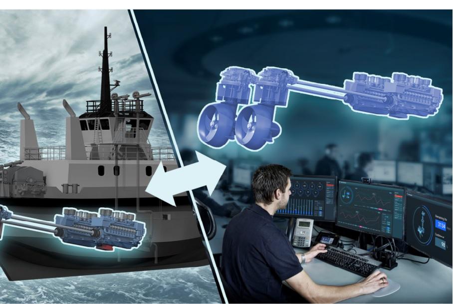 Reboot IoT Factory: Thruster digital twin in action.
